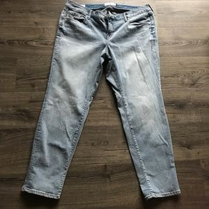 Torrid premium stretch boyfriend light wash jeans